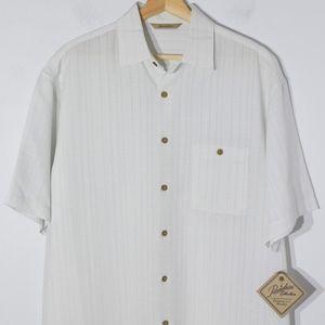 NEW Paradise Collection Shirt Sz M Button Down